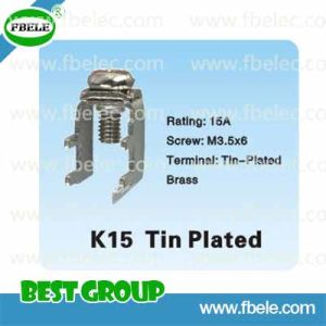 Metal Parts K15 Tin Plated/Electrical Terminal Block/Feed Through Terminal pictures & photos