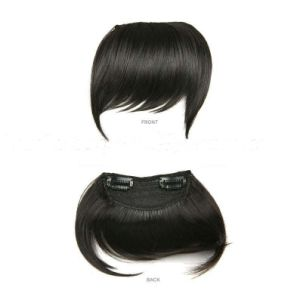100% European Virgin Remy Clip in Human Hair Bang pictures & photos