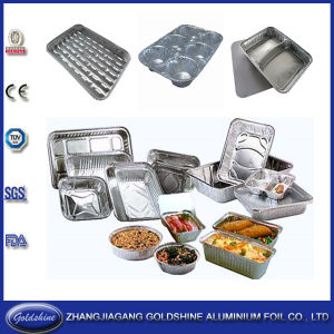 Food Grade Aluminum Foil Containers pictures & photos