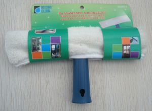 Microfiber Window Wash Wiper W/ Plastic Holder pictures & photos