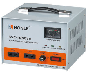 Honle SVC Series Old Type Voltage Stabilizer 220V 3kw pictures & photos