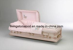American Style Solid Oak Casket (Rose)