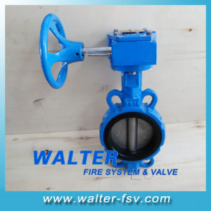 Gearbox Op. EPDM Seated Wafer Butterfly Valve pictures & photos