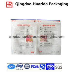 Factory Supply Printed Plastic Clothes Packaging Bags with Zipper pictures & photos