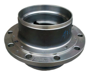 Truck Wheel Parts Cast Iron Wheel Hub