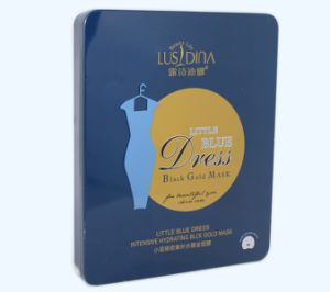 Little Blue Dress Intensive Hydrating Black Gold Face Mask pictures & photos