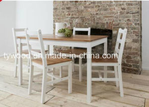Dining Table and 4 Chairs Contemporary Dining Set in Choice pictures & photos