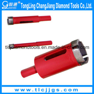Turbo Type Diamond Core Bit for Stone Drilling pictures & photos