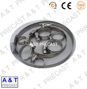 AISI304 Stainless Steel German Type Hose Clamp (8mm) pictures & photos