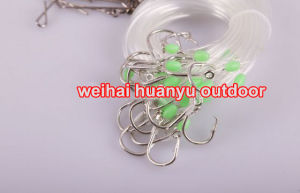 The New Japan Fishing Hooks 25PCS/1 Bag Longline Traces Tubing 75cm Fishhook #18 Lure Hook for Fishing pictures & photos