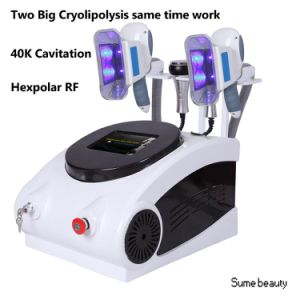 Popular Cryolipolysis 4 Handles Cryo Slimming Beauty Machine pictures & photos