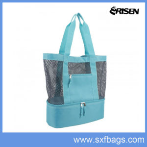 Mesh Shopping Tote Bag Cooler Bag Beach Bag pictures & photos