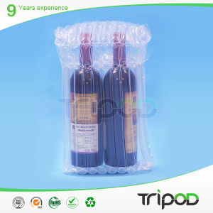 Air Cushion Column Packing Air Bag for Red Wine Bottle