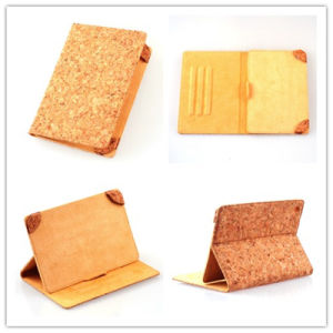 Unique Universal 7 Inch Cork PU Leather Tablet Case pictures & photos