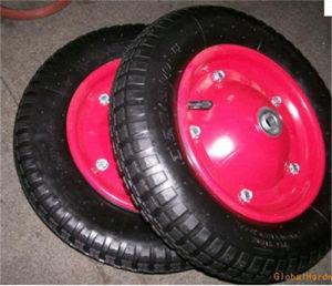 High Good Quality Rubber Wheel (PU wheel) for Wheelbarrow Hand Truck