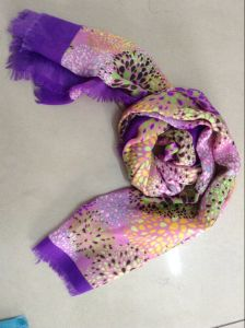 Ladies Fashion Polyester Headscarf pictures & photos