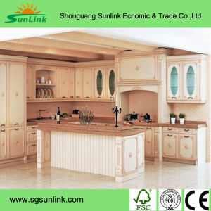Wooden Kitchen Cabinet Door Pr-K4001 pictures & photos