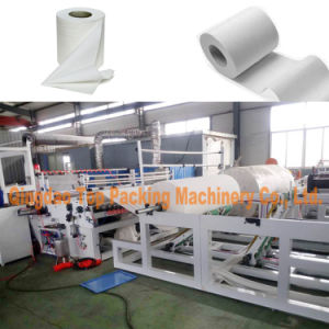 Automatic Toilet Paper Tissues Making Rewinding Machine pictures & photos