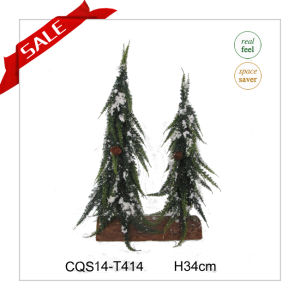 20cm Christmas Decoration Gift Tree Artificial Tree with Ice pictures & photos