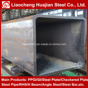 Carbon Steel Black Rectangular Pipe From China pictures & photos