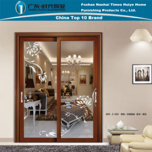 Aluminum/Aluminium Sliding Door Model Z-053 pictures & photos