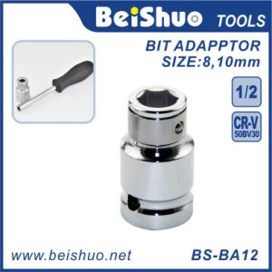 """1/4-Inch 1/2"""" 3/8"""" Drive Ratcheting Screwdriver Bit Adapter pictures & photos"""