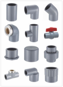 PVC Pipe and Fittings for Water Supply Sch40 pictures & photos