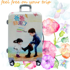 Children Luggage Bag with Cartoon Printing pictures & photos