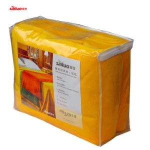 Microfiber Coral Fleeceb Blanket Thicker Bed Sheet (BS001)