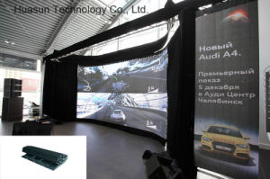 Light Weight Outdoor Indoor Flexible LED Display Galaxias LED Curtain pictures & photos