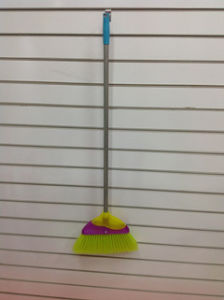 Colorful and Good Quality Plastic Broom (SQ-128) pictures & photos
