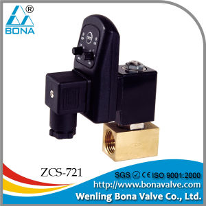 2/2 Way Water Drain Megnetic Valve Zcs-721 pictures & photos