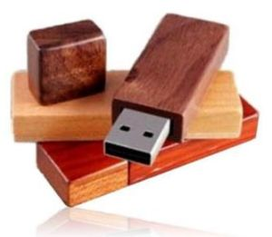 Wood USB Flash Drive pictures & photos
