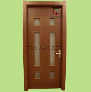 Fashion Design Security WPC Glass Door (TCGD-07)