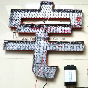 15mm/Red High Performance Through Hole LED Exposed Luminous Letter pictures & photos