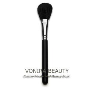 Goat Hair Professional Cosmetic Powder Brush (YFM057)