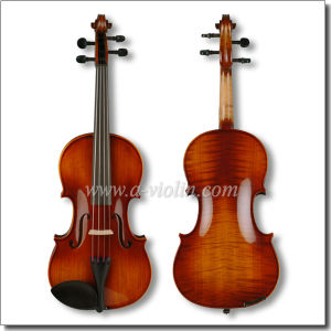 Flamed Violin Fiddle with Case, Universal Violin Outfit (VM140) pictures & photos