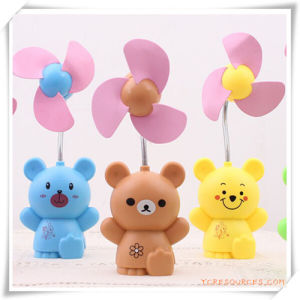 Mini Bear Shaped Rechargeable Desktop Fan for Promotional Gift/Promotion pictures & photos