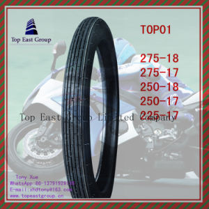 High Quality ISO Nylon 6pr Motorcycle Tyre 225-17 250-17 275-17 250-18 275-18 pictures & photos