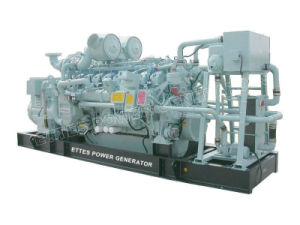 Natural Gas Generator Set Powered by Perkins Engine (880kw/1100kVA)