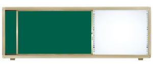 Interactive Sliding Whiteboard with Sliding Track pictures & photos