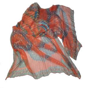 Silk Chiffon Printed Woven Garment Fabric