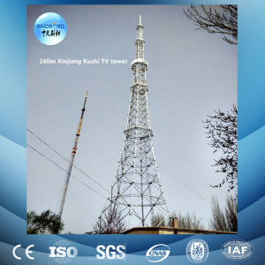 China High Quality Light Type Easy Installation TV Tower pictures & photos