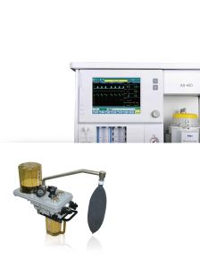 Touch Screen Anesthesia Machine with Ventilator Anesthesia with Ce (SC-AX400) pictures & photos