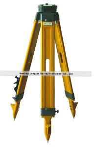 Wooden Tripod Total Station Surveyor Tripod (LJW10) pictures & photos