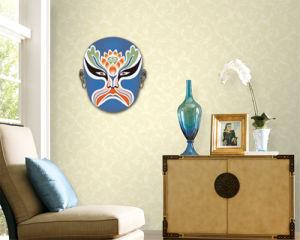 Peking Opera Mask Sticker (TP-073-8)