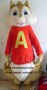 Alvin and Chipmunks Mascot Costume for Adult