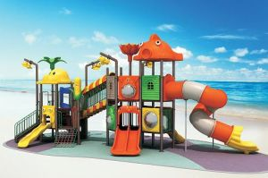 Funny! ! ! Digital Indoor Playground Models and Plastic Slide for Children pictures & photos