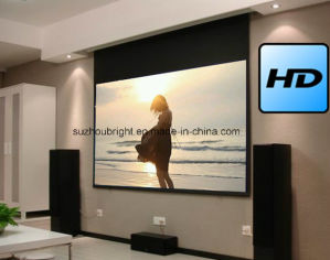 Good Price Electric Projector Silver Screen pictures & photos