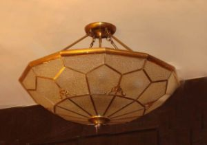 Brass Ceiling Lamp with Glass Decorative 19007 Ceiling Lighting pictures & photos
